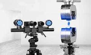 ARAMIS 3D optical testing system