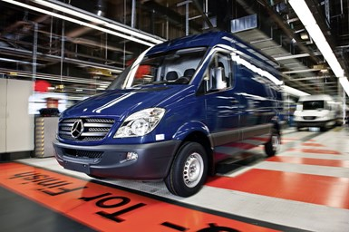 composite leaf springs for Daimler Mercedes-Benz sprinter