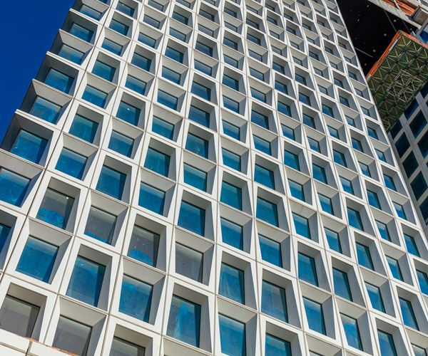 Composites speed concrete facade fabrication  image