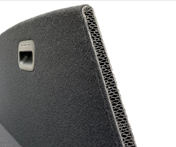 Polypropylene honeycomb lightens, strengthens automotive panels image