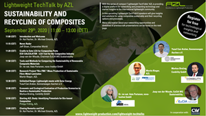 AZL Aachen webinar: Sustainability and recycling