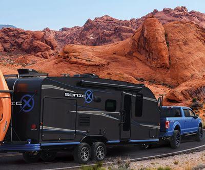 carbon fiber composite camping trailer