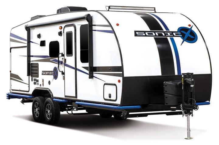 Sonic X carbon fiber composite camping trailer