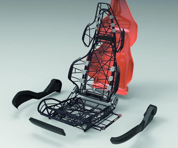 ultra-lightweight seat from CSI Entwicklungstechnik