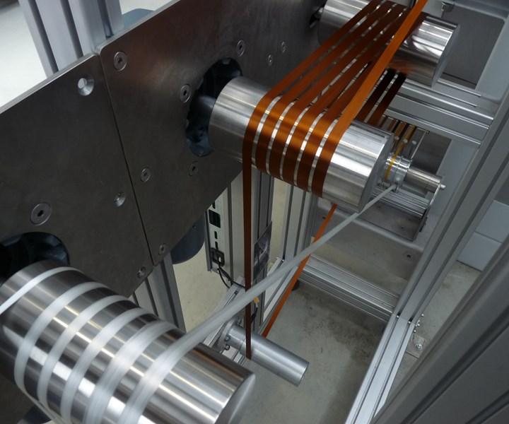 stabilization of carbon fiber at Institut fur Textiltechnik