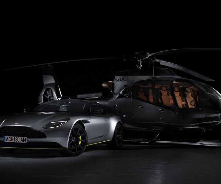 Aston Martin Airbus luxury helicopter