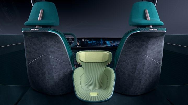 Maezio thermoplastic composites for automotive interior