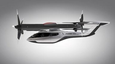 Uber and Hyundai Motor Co. eVTOL design