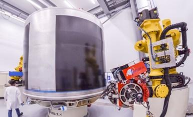 罗尔斯·罗伊斯·布里斯托尔工厂的碳纤维复合材料
