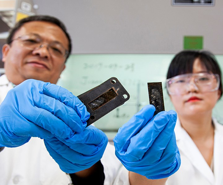 carbon nanotube research for composite heat shield