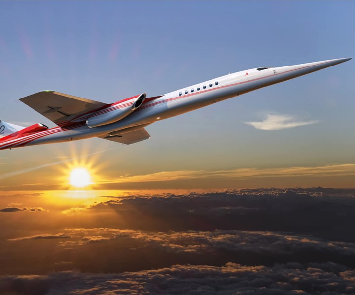 GKN Aerospace supplies empennage for Aerion A32