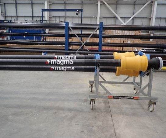 thermoplastic composite subsea pipe