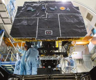 Solar Orbiter, carbon fiber, composites, space composites,