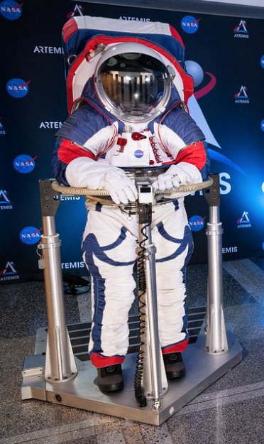 spacesuit, artemis suit, orion suit, composites