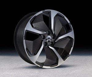 Continuous fiber-reinforced thermoplastic composites enable wheel blade for all-electric SUV