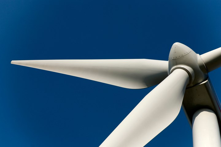 Getty image of a wind turbine