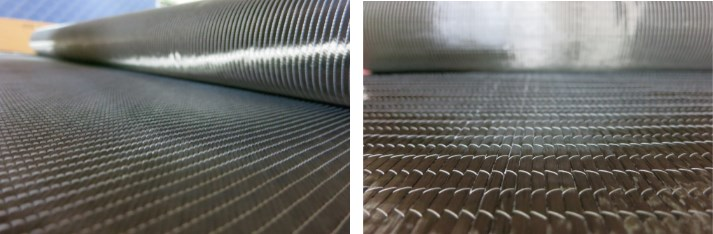 Vectorply composite reinforcement fabric