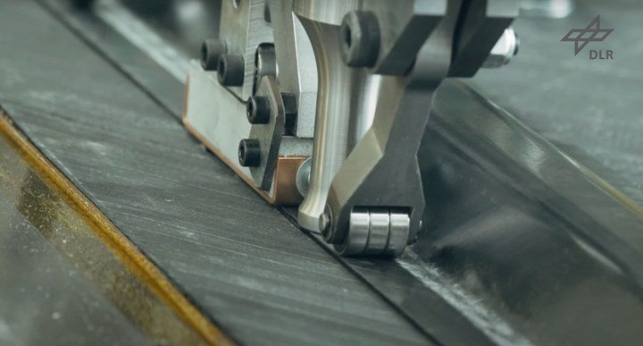 DLR continuous ultrasonic welding of thermoplastic composites