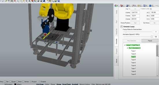 AFP simulation using ADD PATH software