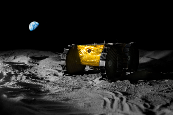 复合材料设计有助于纳米大小的月球流动站击中大型里程碑形象