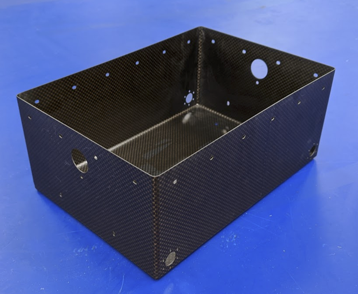 carbon fiber chassis for lunar rover
