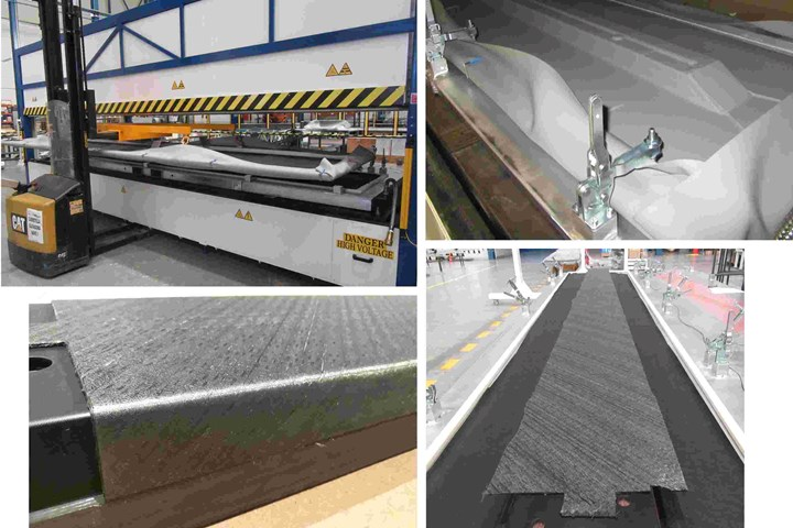 MTorres ACTI equipment for hot drape forming and preforms