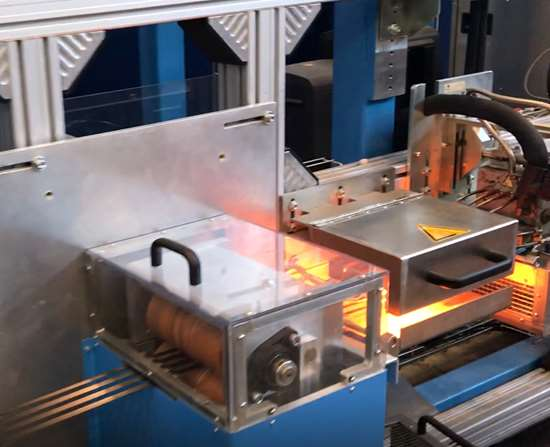 high-temperature thermoplastic veil is applied in MTorres tape line