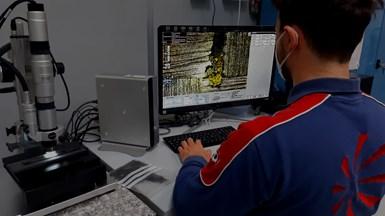 Solvay Leonardo thermoplastic composites aerostructures resesarch lab
