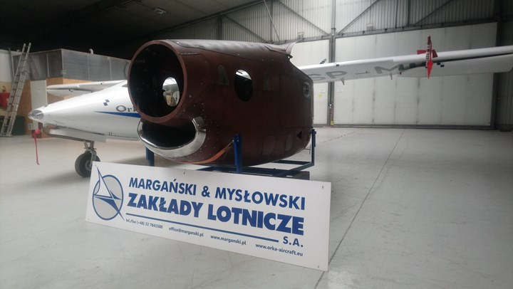 composite engine nacelle developed in SAT-AM Clean Sky 2 project