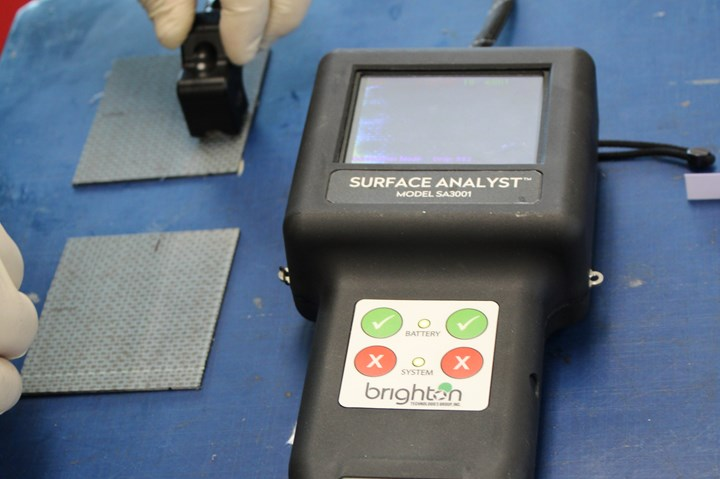 Surface Analyst measurement tool
