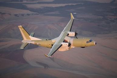 Airbus C295 military transport
