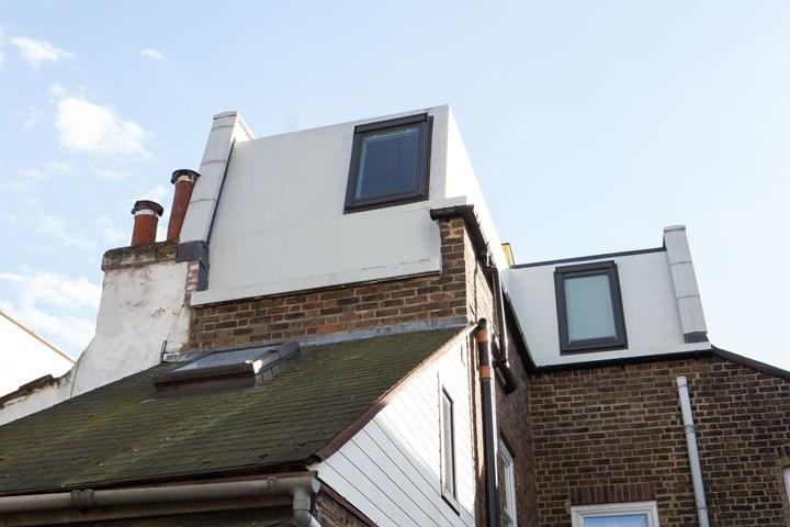 复合住房单元的外部
