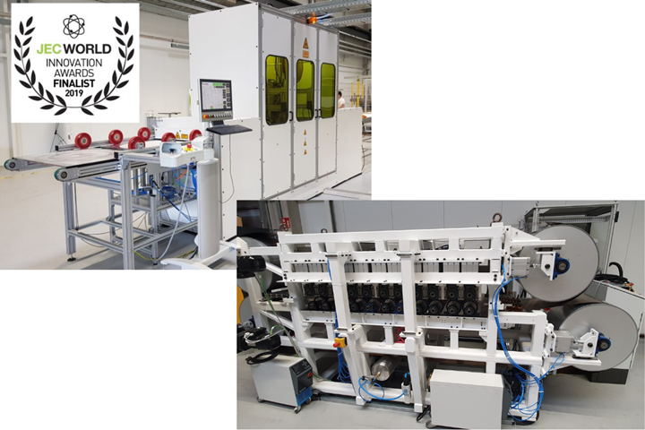 AZL ultra-fast consolidation machine, and double-belt press.