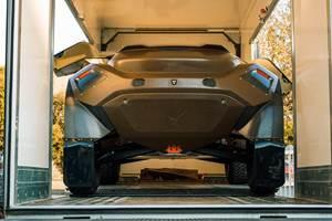 All-electric SUV motorsport vehicle incorporates Bcomp natural fiber bodywork