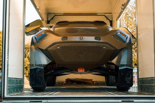 采用Bcomp天然纤维车身的全电动SUV跑车