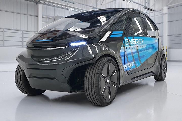 Applied EV Teijin LS-EV prototype electric vehicle