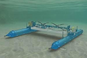 Éirecomposites和ORPC使用再生碳纤维在潮汐涡轮机箔
