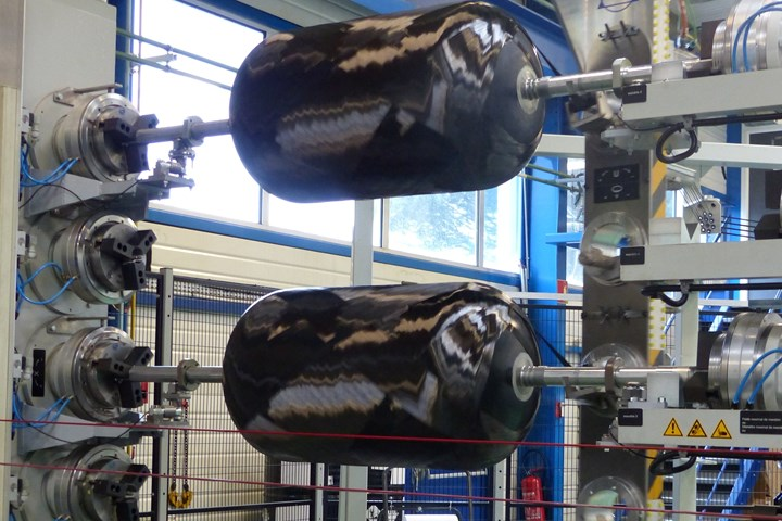 STELIA Aerospace Composites industrial filament winding capacity