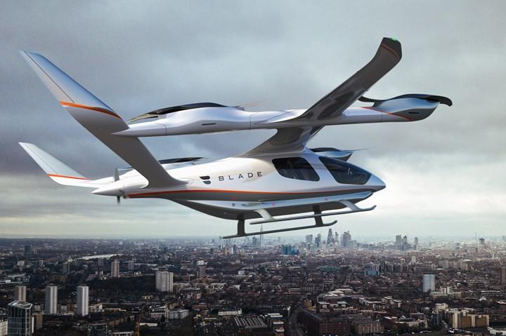 Beta Technologies' composites-intensive ALIA aircraft.