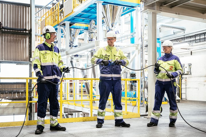 Elkem Kristiansand, Norway industrial pilot facility for lithium-ion batteriess.