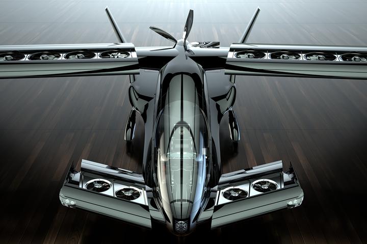 Horizon Aircraft'slong-range Cavorite X5 hybrid eVTOL.