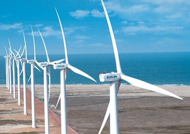 wind turbines Suzlon