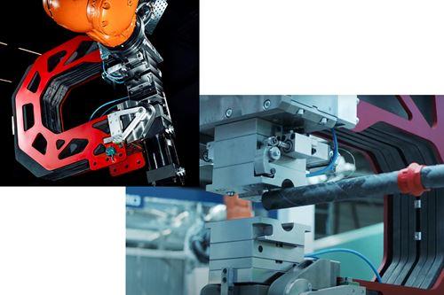 官能化复合材料的机器人注射成型