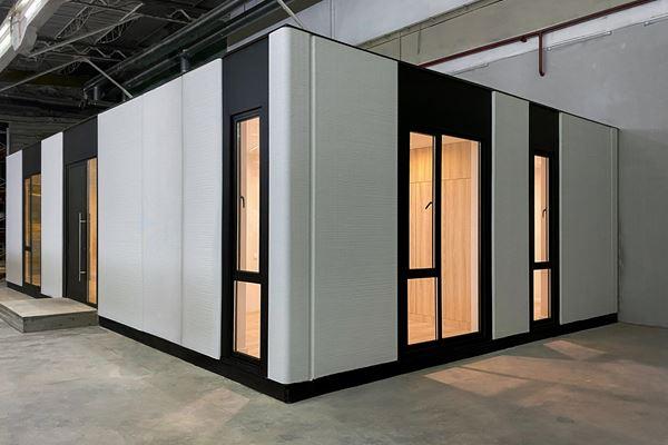 连续纤维增强3D打印房屋地平线图像