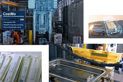 CosiMo:在电池盒盖挑战模拟器上演示了智能热塑性RTM工艺