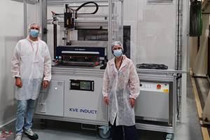 KVE复合材料在Daher安装了第一台商用移动感应焊接单元(MIWC)