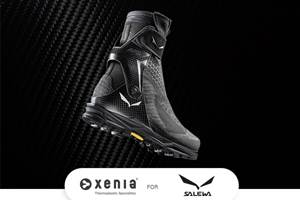 Salewa的新款徒步靴采用了热塑性复合材料