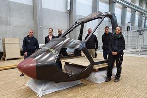 利用motorsports复合材料打造下一代旋翼机形象