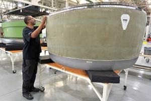 中河航空结构系统公司扩展了喷气发动机短舱的MRO能力