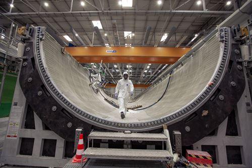 通用电气推出了第2条107米风力涡轮机叶片模具生产线
